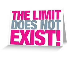 Mean Girls - The limit does not exist Greeting Card