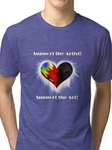 Support the Arts Tri-blend T-Shirt