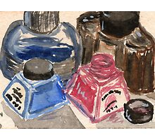 Ink Bottles by Amy-Elyse Neer