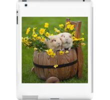 Furry friends iPad Case/Skin