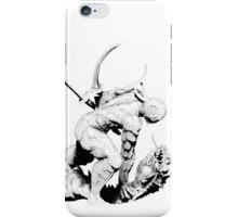Cyborg Ninja (Black Opaque) iPhone Case/Skin
