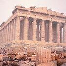 Early Morning Parthenon by Nigel Fletcher-Jones