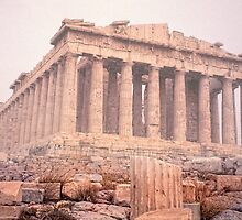 Early Morning Parthenon by Nigel Fletcher-Jones