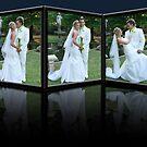 Wedding 3 D by JandeBeer