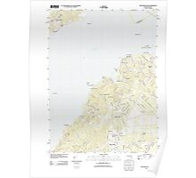 Massachusetts  USGS Historical Topo Map MA Vineyard Haven 20120606 TM Poster