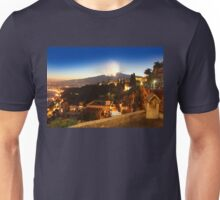 Etna eruption, view from Taormina, Sicily - ITALY Unisex T-Shirt