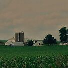 Wisconsin Farm by AuntieJ
