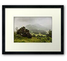 Atmospheric Patterdale Framed Print