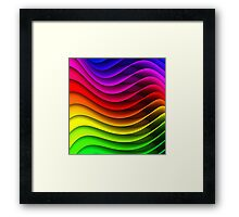 Colours colours Framed Print