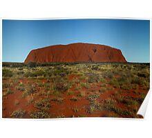 Uluru - Ayres Rock Poster