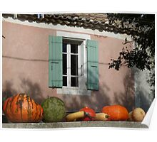 Autumn in Provence Poster