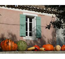 Autumn in Provence Photographic Print