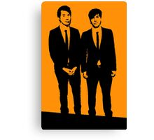 Dan and Phil suits Canvas Print