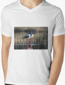 On The Ponds  Mens V-Neck T-Shirt