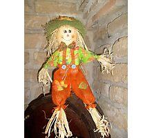 Happy puppet Photographic Print