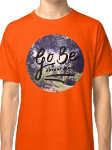 Vintage Camping Adventure Wanderlust Typography Photo Classic T-Shirt
