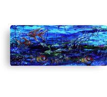 Lipstick Fish Canvas Print