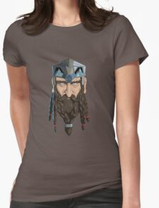 Dwarf Chieftain  Womens Fitted T-Shirt
