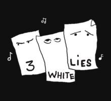 Three White Lies - the band T-Shirt