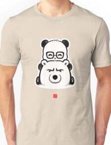Panda And Polar Bear Unisex T-Shirt