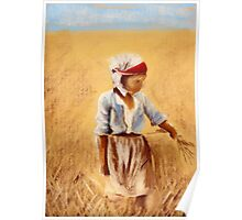 A Girl In a Field Poster