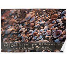 Choiceless as a beach... Poster