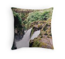 The Sounds of Many Waters Throw Pillow