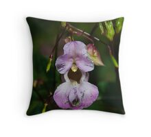 Pretty Weed    Himalayan Balsam Throw Pillow