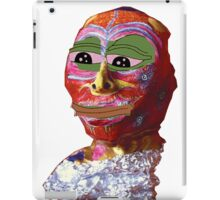 Annabel Meme Reader The Wytches Pepe w/o background iPad Case/Skin