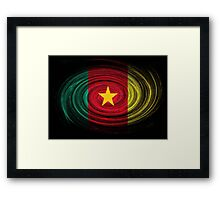 Cameroon Twirl Framed Print