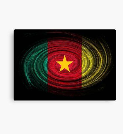 Cameroon Twirl Canvas Print