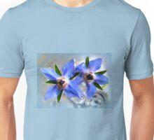 Borage Flowers in Water Unisex T-Shirt