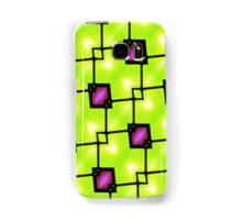 Trendy Neon Graphic Geometric Fashion Samsung Galaxy Case/Skin