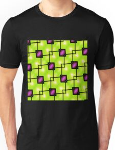 Trendy Neon Graphic Geometric Fashion Unisex T-Shirt