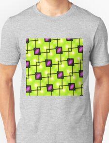Trendy Neon Graphic Geometric Fashion Unisex T-Shirt