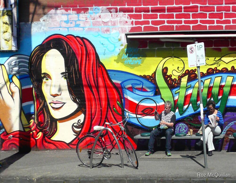 Madonna Graffiti by Roz McQuillan