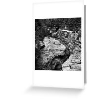 River Slot Greeting Card