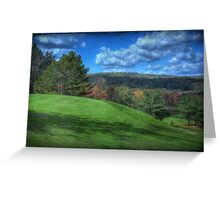 The Green at Hole #1 Greeting Card