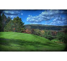 The Green at Hole #1 Photographic Print