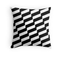 Black And White Trendy Fashion Accessory  Throw Pillow