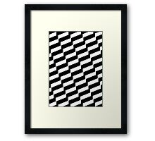 Black And White Trendy Fashion Accessory  Framed Print