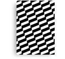 Black And White Trendy Fashion Accessory  Canvas Print