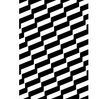 Black And White Trendy Fashion Accessory  Photographic Print