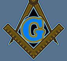 Freemason Logo: Yellow, Gold and Blue by JoCa-byJoeCarr