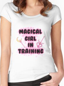 Magical Girl In Training Women's Fitted Scoop T-Shirt