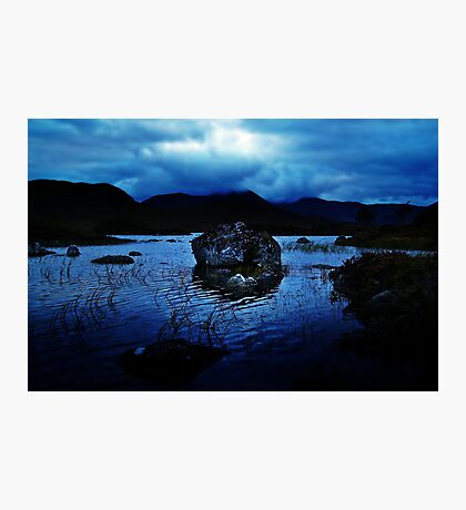 Dusk At Rannoch Moor. Photographic Print