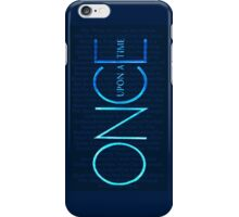 OUAT Episodes Logo iPhone Case/Skin