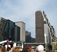 Architecture Chicago River Boat Tour by Jonathan  Green