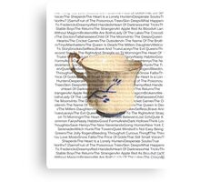 Episodes Chipped Cup Canvas Print