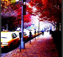 Taxi Line Up by ShellyKay